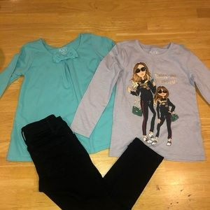 Size 4 outfit - children's place